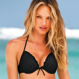 Victoria's Secret Fabulous Push Up Bikini Top 36E